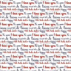 I love you phrase written in many languages - BSA044