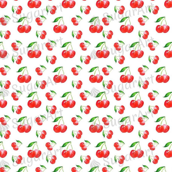 Watercolour Cherry Pattern - BSA055