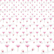 Load image into Gallery viewer, Floral Pattern with Pink Tender Flowers - BSA060 - Sugar Art