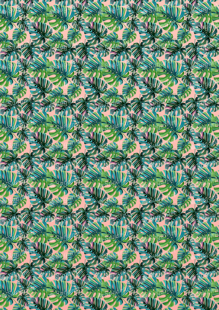 Tropical Palm Leaves- Exotic - BSA063