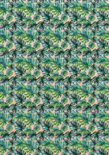 Load image into Gallery viewer, Tropical Palm Leaves- Exotic - BSA063-Sugar Stamp sheets-Sugar Art