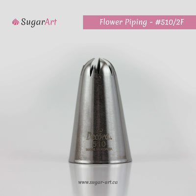 "Flower Piping Nozzle ""510/2F"""