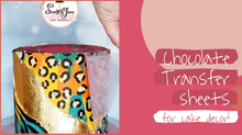 Load image into Gallery viewer, Decorating Chocolate with Transfer Sheets class with Joana from @sweetsbyjoana