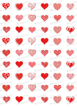 Load image into Gallery viewer, Love is in the air! - E05-Sugar Stamp sheets-Sugar Art