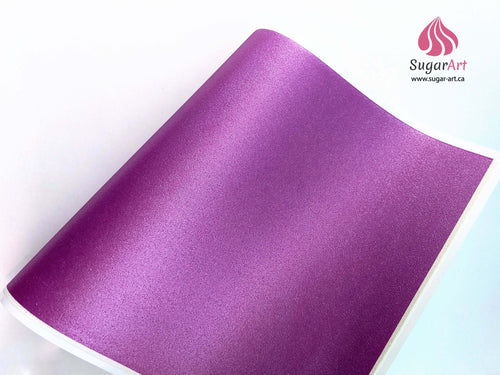 Magenta Wild Orchid - Edible Fabric - EF010-Edible Fabric-Sugar Art
