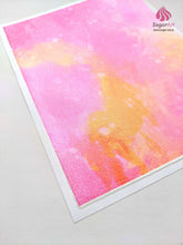 Load image into Gallery viewer, Juicy Pink Orange Watercolor - Edible Fabric - EF011-Edible Fabric-Sugar Art