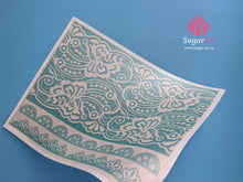 Load image into Gallery viewer, Mint Wedding Laces - Edible Fabric - EF017-Edible Fabric-Sugar Art