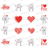 I love you, Couple in love - ESA002