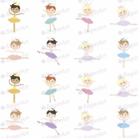 Lovely Ballerinas - 1.5 inch - ESA008