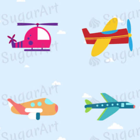 Colourful Airplane Collection - ESA015