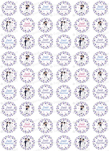 Congratulations! - ESA033-Sugar Stamp sheets-Sugar Art