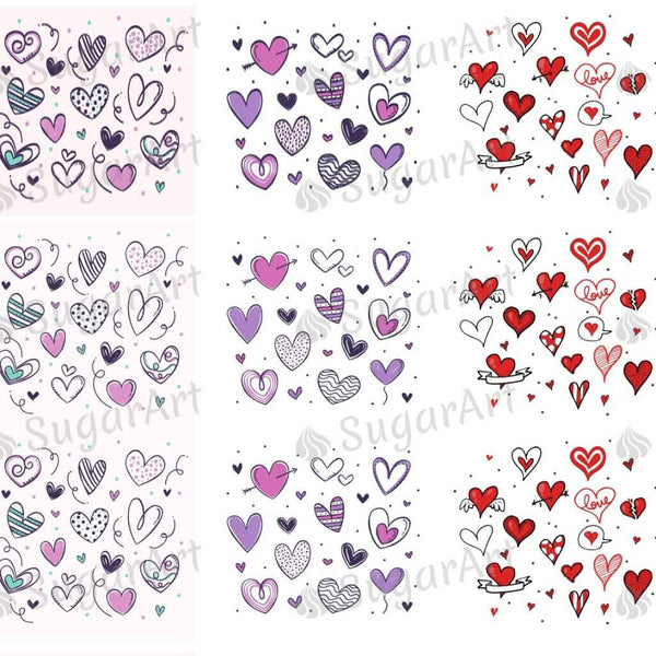 Pretty Hearts Collection - ESA048