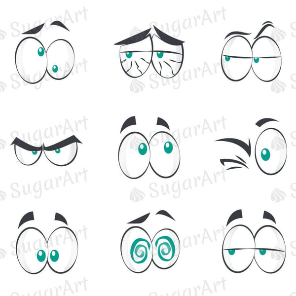 Comic Cartoon Eyes - ESA052
