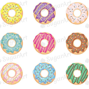 Donuts Collection - ESA066 - Sugar Art