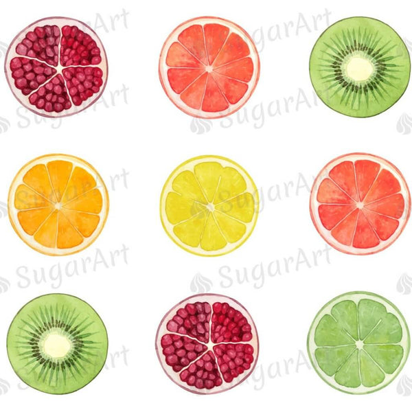 Round Fruit Slice Collection - ESA068