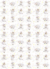 Load image into Gallery viewer, Cute Watercolor Sheep Collection - ESA081-Sugar Stamp sheets-Sugar Art