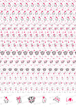 Load image into Gallery viewer, Lovely Pattern - ESA094-Sugar Stamp sheets-Sugar Art