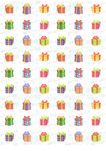 Load image into Gallery viewer, Collection of Gift Box - ESA102-Sugar Stamp sheets-Sugar Art