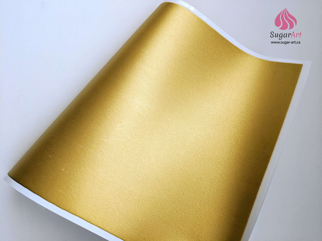 Gold - Edible Fabric - EF001-Edible Fabric-Sugar Art