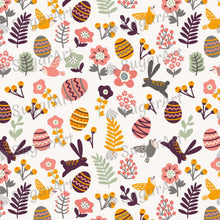 Load image into Gallery viewer, Easter Eggs and cute leaves pattern - HSA005 - Sugar Art