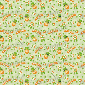 Saint Patrick Day Pattern - HSA018 - Sugar Art