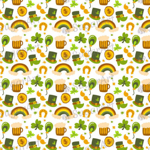 Hand drawn Saint Patrick's Day Pattern - HSA019