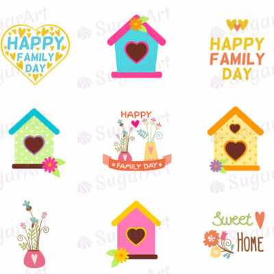 Happy Family Day, Home Sweet Home - HSA021