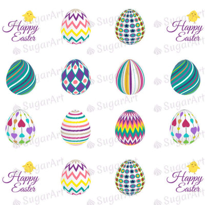 Decorated Easter Eggs Collection - HSA023