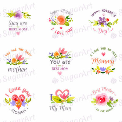 Watercolour Happy Mother's Day - HSA027