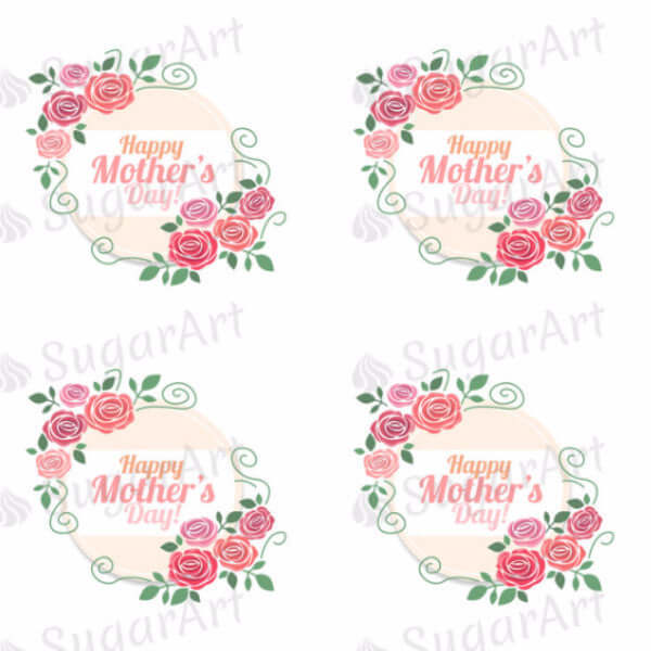Happy Mother's Day - 1.5 inch - HSA028