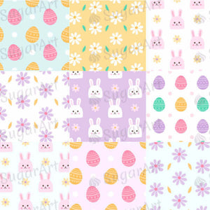 Easter Day Background - HSA032-Sugar Stamp sheets-Sugar Art