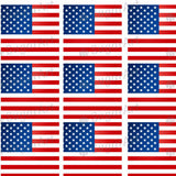 Independence Day, Flags Background - HSA033