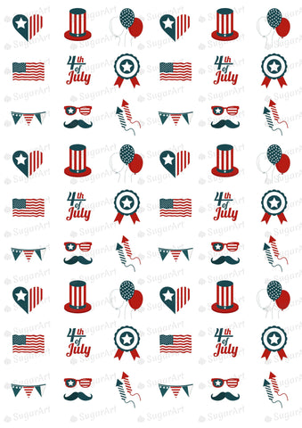 Independence Day, 4th of July - HSA035