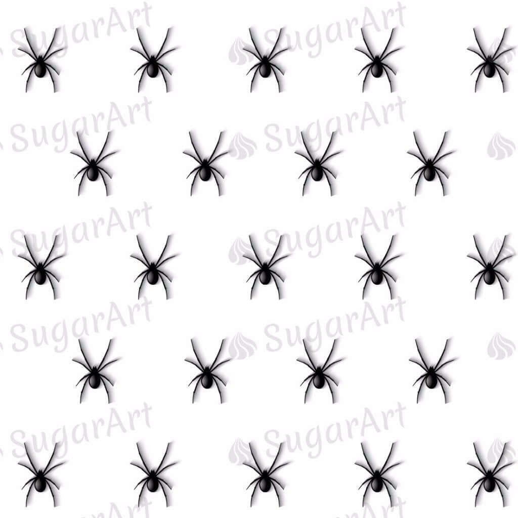 Tiny Spiders and Spider Webs - 0.5 inch - HSA043