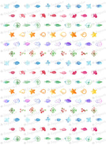 Load image into Gallery viewer, Watercolor Christmas Lights - HSA046-Sugar Stamp sheets-Sugar Art