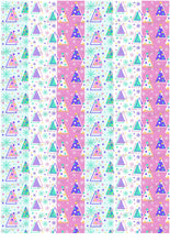 Load image into Gallery viewer, Memphis Style Christmas Pattern - HSA047-Sugar Stamp sheets-Sugar Art