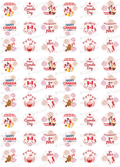 Happy Canada Day, 1st July - HSA065