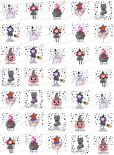 Load image into Gallery viewer, Happy Halloween - 1.5 inch - HSA070-Sugar Stamp sheets-Sugar Art