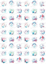 Load image into Gallery viewer, Happy New Year - HSA082 - Meringue Chocolate transfer sheets