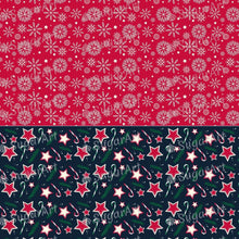 Load image into Gallery viewer, Christmas Pattern Collection – HSA095 - Sugar Art Canada Meringue Transfer sheets