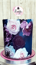 Load image into Gallery viewer, LIVE! How to use Sugar Paper in cakes with various types of covering by @sweetsbyjoana