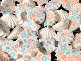Pink and Blue Floral Decorations - BSA013