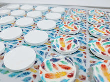 Load image into Gallery viewer, Round Stencil Mat - Sugar Art