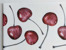 Load image into Gallery viewer, Watercolor Cherries - Icing - ISA046-Icing/Frosting Paper-Sugar Art