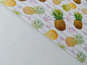 Pineapple Watercolor Pattern - Icing - ISA048-Icing/Frosting Paper-Sugar Art