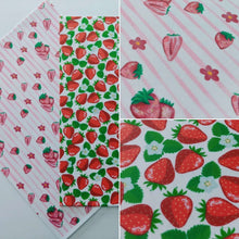 Load image into Gallery viewer, Red Strawberries Background - Icing - ISA053