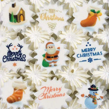 Load image into Gallery viewer, Merry Christmas - SA42-Sugar Stamp sheets-Sugar Art