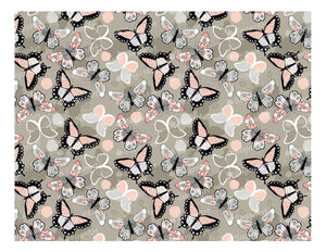 Colorful Butterflies - Icing - ISA004-Icing/Frosting Paper-Sugar Art