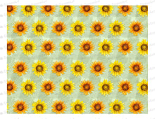 Load image into Gallery viewer, Sunflowers Pattern - Icing - ISA007-Icing/Frosting Paper-Sugar Art