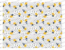 Load image into Gallery viewer, Polka Dots Floral Backgraund - Icing - ISA008 - Sugar Art
